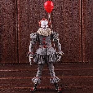 Image 3 - Neca Speelgoed Stephen King S Het De Clown Pennywise Figuur Pvc Horror Action Figures Collectible Model Speelgoed