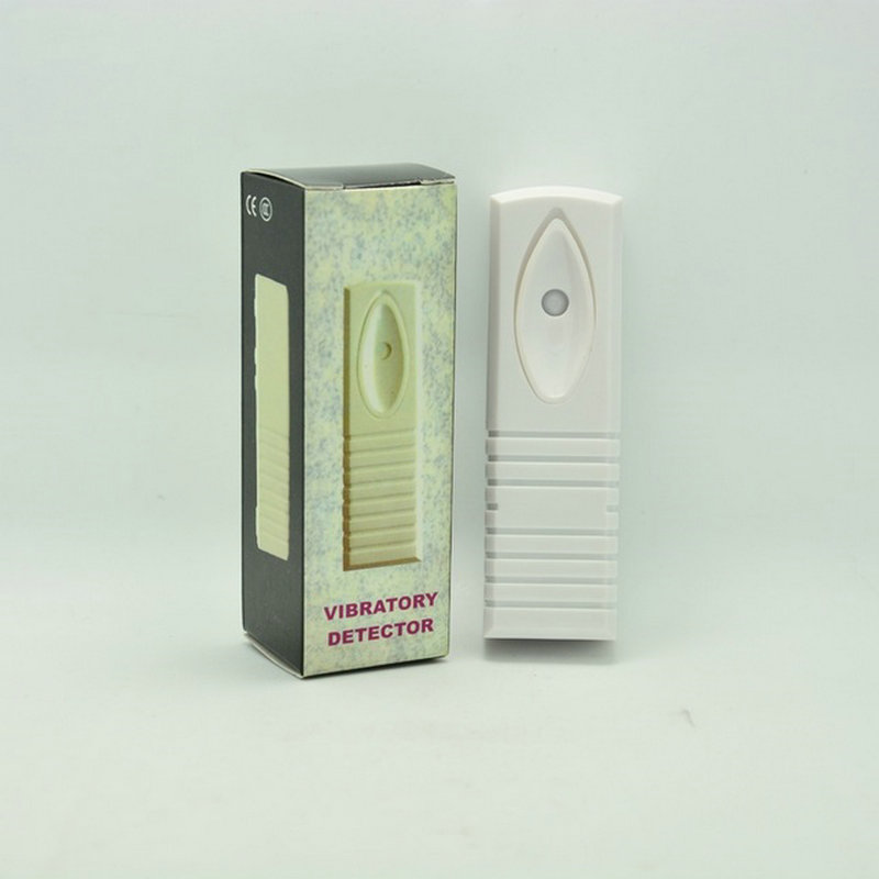 (200 PCS) Intelligent Digital Wired Vibration Sensor Alarm Glass Wall Safe Box Case Box Shock Detector Security Burglar Alarm