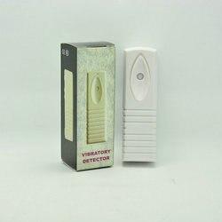 (200 PZ) intelligente Vibrazione sensore di Allarme cablato Digitale di vetro a muro cassaforte box case shock rivelatore antifurto di sicurezza