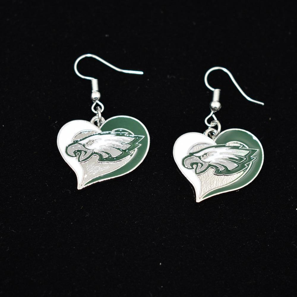 10Pairs-Fashion-Sports-Enamel-Philadelphia-Eagles-Alloy-Fans-Earrings-Drop-Earrings-For-Women-Jewelry