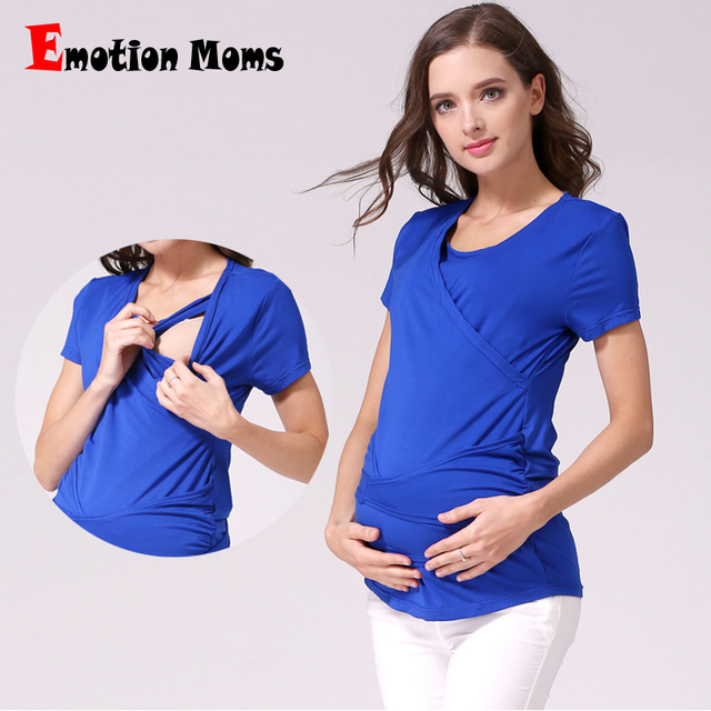 MamaLove Maternity Clothes Maternity Tops Breastfeeding Tops Nursing  clothes Nursing top pregnancy clothes for pregnant women b762d447d