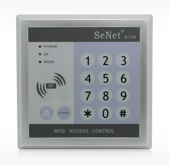 800 User ID Card Password Single  Door Access Control