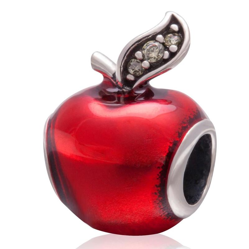 perles pandora rouge