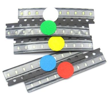 SMD 1206 Led Light Package Electronics Led Diy Kit Red Green Blue White Yellow Diode Leds Set 5 Colors X20pcs =100pcs