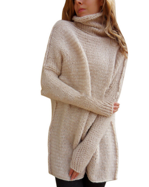 Autumn Maternity knitted Sweater Cowl Neck Loose Long Sleeve Batwing Sleeve Pullover Jumper Women Pregnant clothes цена 2017