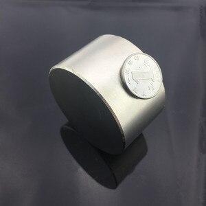 Image 5 - Ímã permanente redondo n52 50x30mm, ímã de neodímio super forte 40x20mm, 1 peça rara terra ndfeb gallium metal