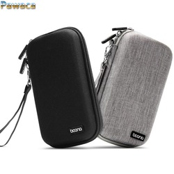 Portable Travel USB Cable Storage Bag Organizer Phone Charger Case For Electronic Accessories Power Bank Hard Disk Handbag