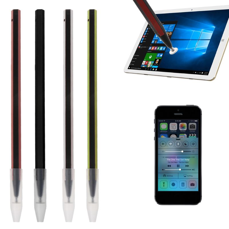 2 in 1 Capacitive Universal Touch Screen Pen Stylus For iPhone iPad GPS Phone PC