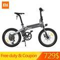 [Duty Free] Xiaomi HIMO C20 Pieghevole Ciclomotore Elettrico Della Bicicletta 250 W Del Motore 25 km/h Nascosta Pompa di Gonfiaggio Shimano azionamento a Velocità variabile