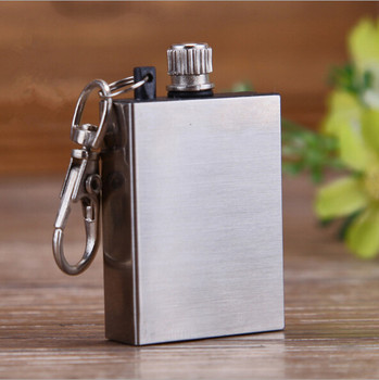 emergency metal flint fire starter match lighter for outdoor camping and hiking