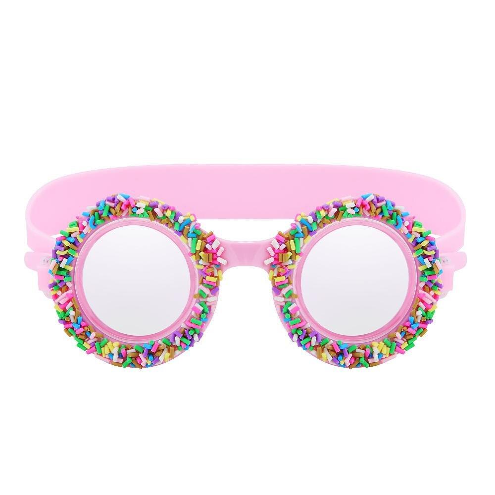 HobbyLane Kids Child Swimming Glasses Silicone Waterproof Anti-fog Eyes Protection Goggles Pink