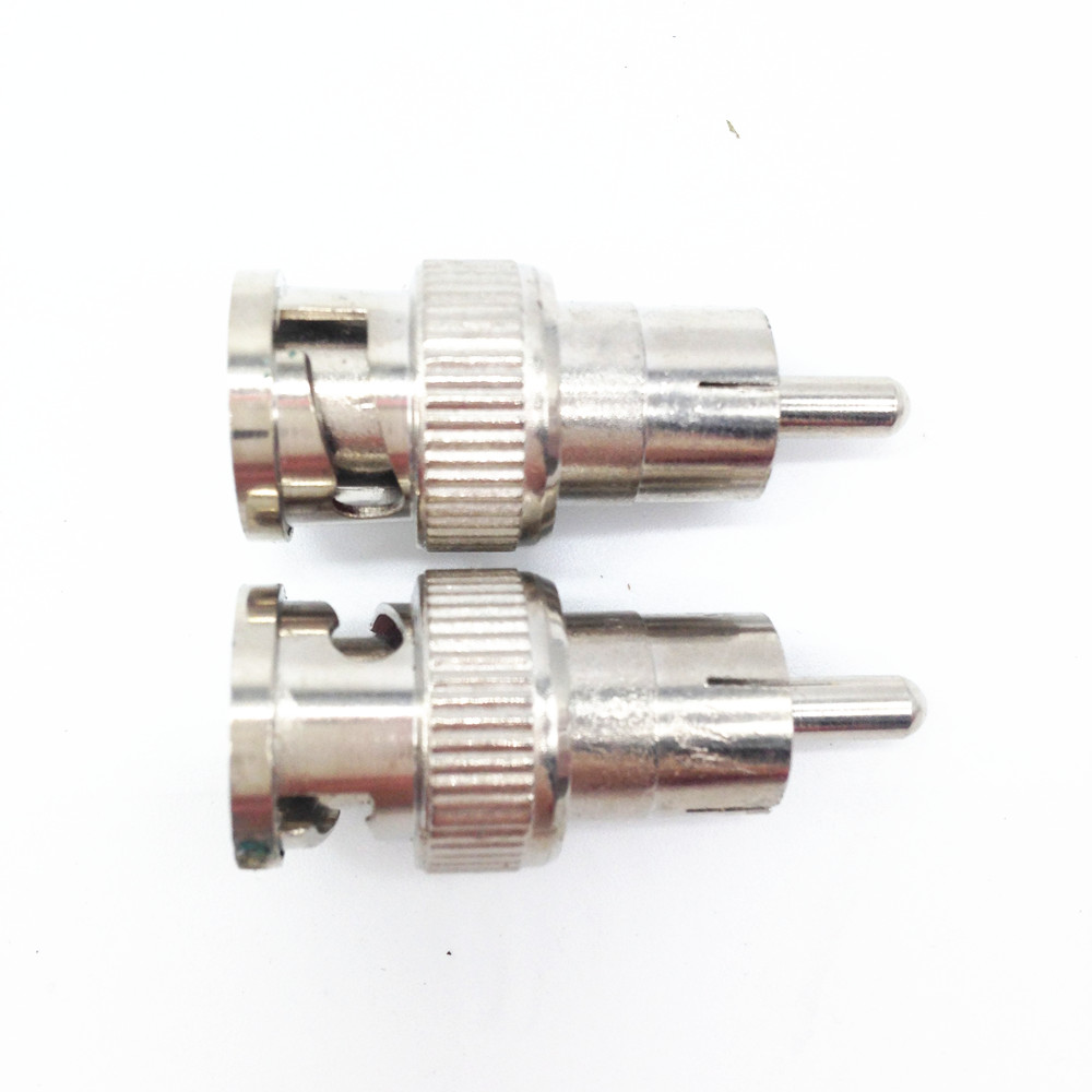10PCS BNC Male To RCA Female Connector Adapter For Video Cable CCTV Surveillance Security Camera DVR