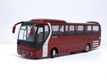 142 modelo fundido a presión para Yutong MAN León estrella autobús aleación juguete coche miniatura colección regalos ZK6120R41