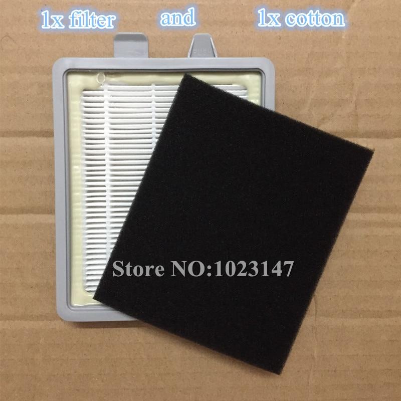 1x Vacuum cleaner HEPA filter and 1x Filter Cotton replacecment for Electrolux Z1860 Z1850 Z1880 Z1870 потребительские товары oem hepa electrolux z1860 z1850 z1880 z1870 hepa filter for electrolux z1860