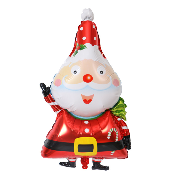 2d3d284ccf7d2 ZOTOONE Large Smiling Santa Clause Snowman Foil Balloon for Christmas Party  Home Decoration Xmas Gift Toys For Children E. undefined undefined undefined
