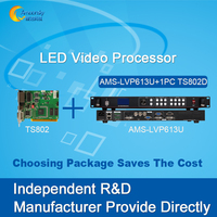 AMS LVP613U Audio Input And Output Rgb Led Display Video Controller Led Video Wall Processor Installed