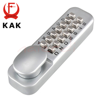 Zinc Alloy Keyless Combination Mechanical Digital Door Lock No Need Power Push Button Code Lock