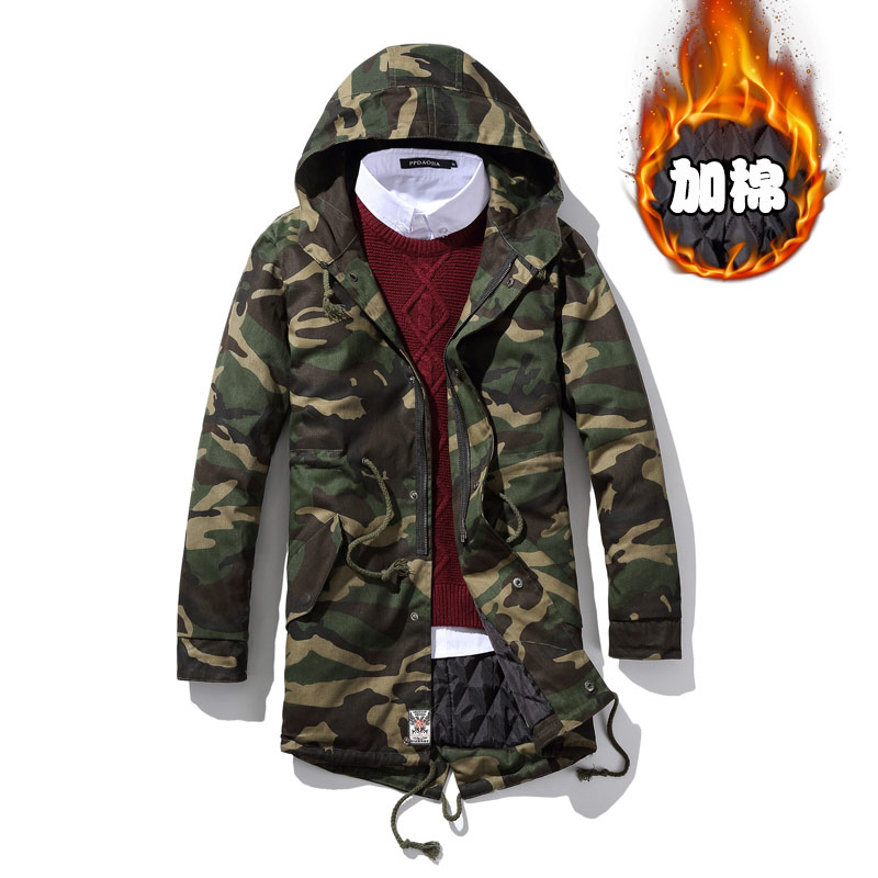ФОТО High Quality Camouflage Jacket Men  Plus Size Military Uniform Autumn Winter Men's Casual Thickness Jacket Army Clothing M~5XL