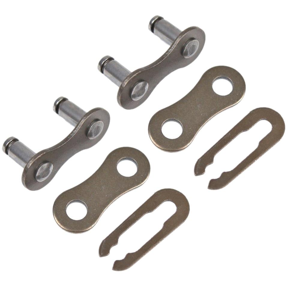 5Pcs Bicycle Bike Metal Chain Master Link Connectors Repair Parts 1//2*1//8 FS