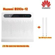 Unlocked Huawei B593 B593s 12 Plus 2pcs Antenna 4G LTE 100Mbps CPE font b Router b