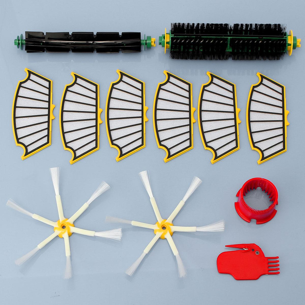 2018 Replacement Filter Bristle/Beater Brush Round Cleaning Tool Vacuum Cleaner Accessories Kit For iRobot Roomba 500 Series vacuum cleaning kit attachement kit dusting dusting brush nozzle crevices tool upholster tool for 32mm