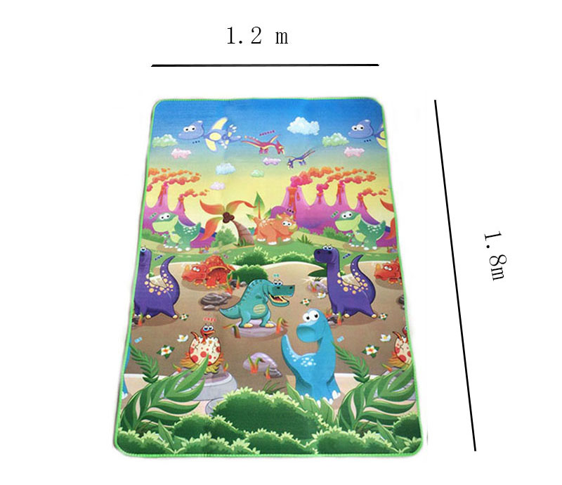 HTB1KCG3a8Cw3KVjSZFuq6AAOpXaL Baby Play Mat 0.5cm Thick Crawling Mat Double Surface Baby Carpet Rug Animal Car+Dinosaur Developing Mat for Children Game Pad