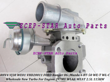 Free Ship RHV4 VJ38 VFD20011 WE01 Turbocharger Turbo For FORD Ranger 06- WLAA WEAT For MAZDA 6 BT50 BT-50 WE-T WL-C J97MU 2.5L