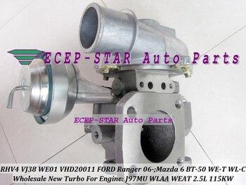 Free Ship RHV4 VJ38 VFD20011 WE01 Turbocharger Turbo For FORD Ranger 06 WLAA WEAT For MAZDA