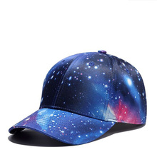 1 Pcs 2018 starry sky Fashion summer Baseball Cap Snapback South Korean version of polyester Hats For Men And Women 8 Colors