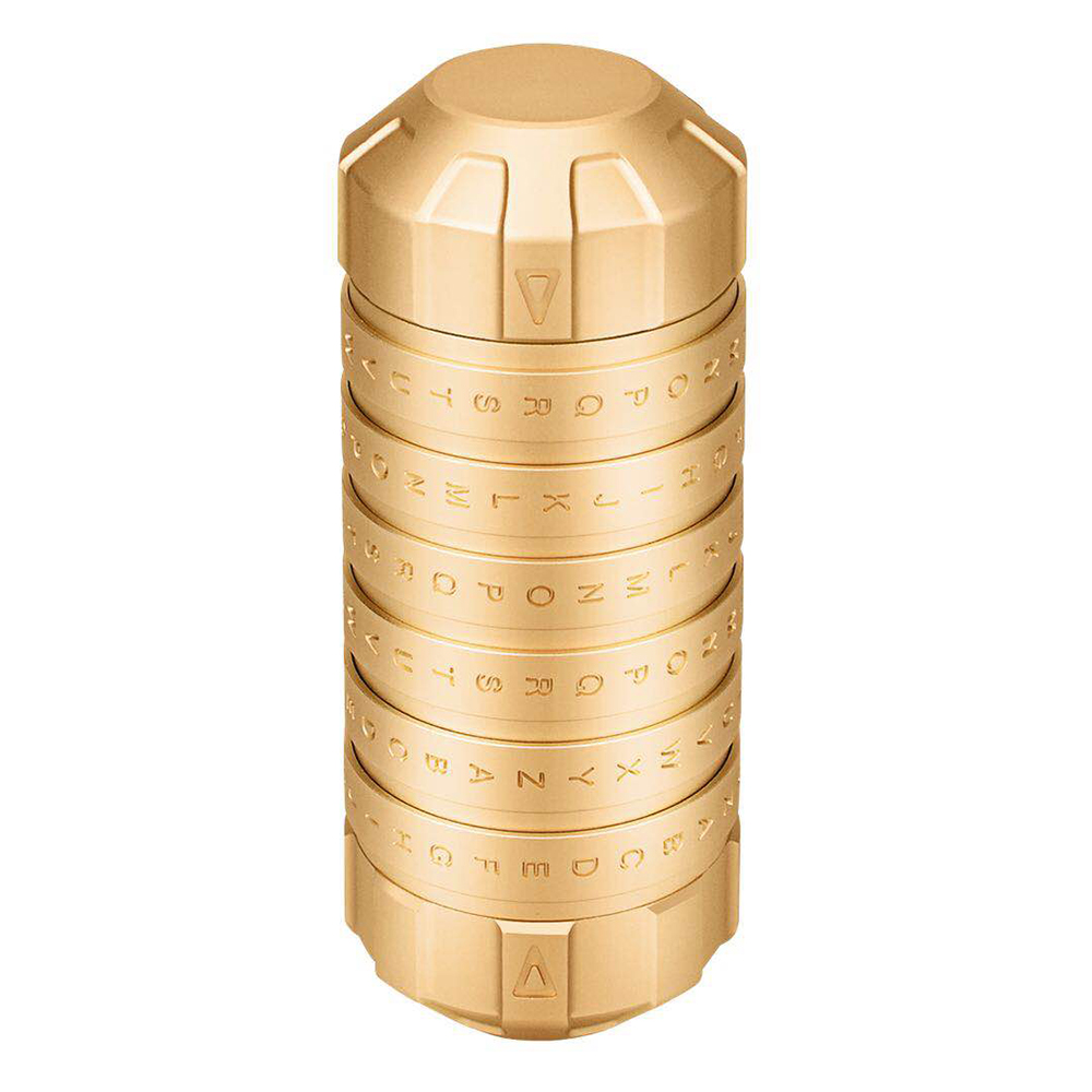 Meilleure mode nouveau Style Mini Cryptex Code serrure idées cadeaux Da Vinci Code serrure à marier amoureux évasion chambre accessoires jouets éducatifs