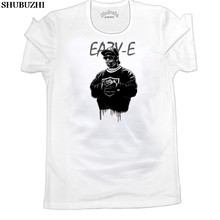 Hip Hop Legends NEW Graphic Mens NWA T Shirt Gangsta Rap Eazy E Top Tee WhiteGray del Cotone di Estate Del Manicotto di raglan t-shirt ringer Tee(China)