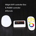 Mi light 2.4G Wireless RF Touch Remote, 4-zone RGBW LED Controller, WiFi Mi-Light For 3825 5050 RGBW RGBWW Strip