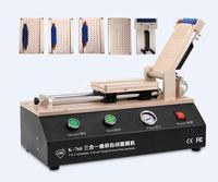Universal OCA Film Máquina de Estratificação Para iPhone Samsung Reparação Tela LCD com 4 moldes universal S6 S6 + S7 Borda