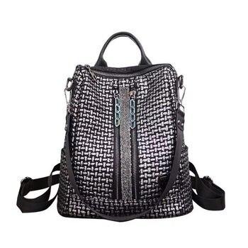 Fashion Design Woman Backpack High Quality Youth Leather Backpacks for Teenage Girls Female School Shoulder Bag Bagpack mochil