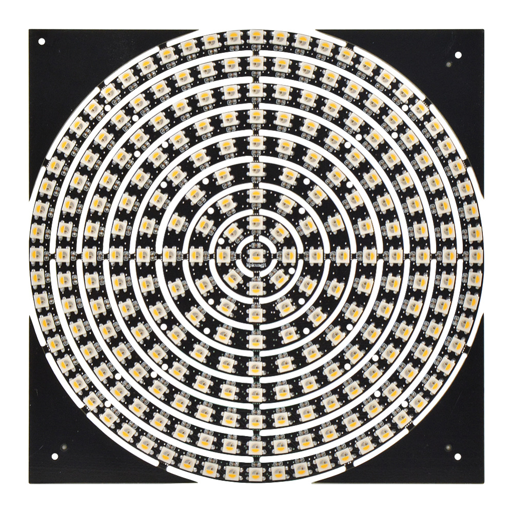 Mokungit 1 8 12 16 24 32 40 48 60 93 241 Bits LEDs SK6812 RGBW RGBWW SMD 2700-6500K LED Ring Light With Integrated Module DC5V
