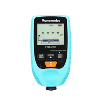 Yunombo YNB 210 Digital Backlight LCD Film Thickness Meter Car Paint Thickness Tester Coating Thickness Gauge