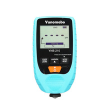 Yunombo YNB-210 Digital Backlight LCD Film Thickness Meter Car Paint Thickness Tester Coating Thickness Gauge