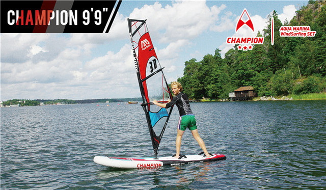 Inflatable Wind Surfing Stand Up Paddle Board Sup All