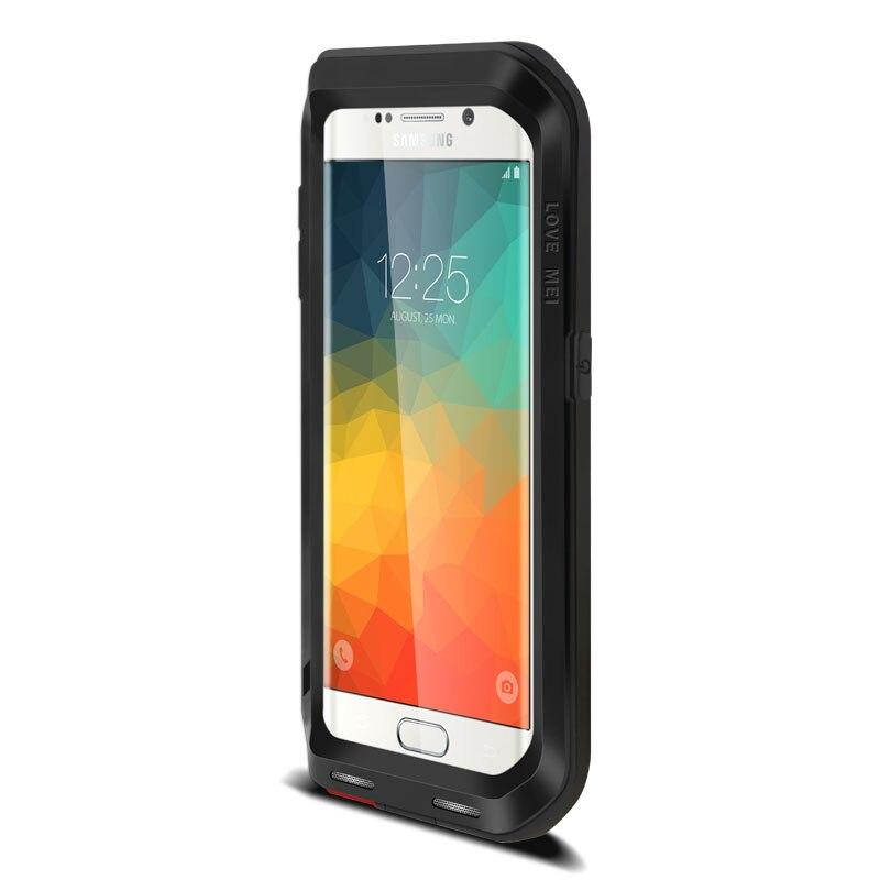 Étui de protection hybride blindé étui étanche Fundas boîtier étanche à l'eau/saleté/choc/pluie pour Samsung Galaxy s6 S6 edge Plus - 6