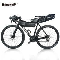 RHINOWALK 5pc/set Bicycle Bag Outdoor Cycling Bike Bag MTB Bike Saddle Tail Seat Bicycle Handlebar Pannier Head Front Tube Bag