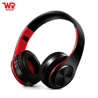 WPAIER Wireless Bluetooth Headphone Colorful Stereo Audio Mp3 Headset Foldable Wireless Earphone With MIC Support SD