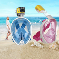 Kawo High Quality Scuba Diving Mask Full Face Snorkel Women Men Swimming Full Dry Breath Smooth