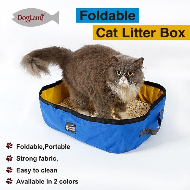 DogLemi Portable Outdoor Cat Litter Box Foldable Travel Cat Litter Pan  sc 1 st  AliExpress.com & DogLemi Portable Outdoor Cat Litter Box Foldable Travel Cat Litter ...