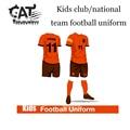 Kids boys sport sets 2017 summer children clothes sets boys short sleeve football uniform training clothes sets