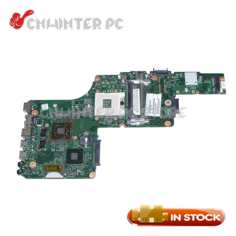 NOKOTION 6050A2491301-MB-A03 1310A2491319 V000275120 for toshiba satellite L855 laptop motherboard HM76 <font><b>HD</b></font> <font><b>7670M</b></font> DDR3 image