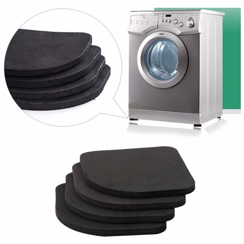 4 pcs Multifunctional Anti Vibration Mat For Refrigerator Washing Machine Pads4 pcs Multifunctional Anti Vibration Mat For Refrigerator Washing Machine Pads