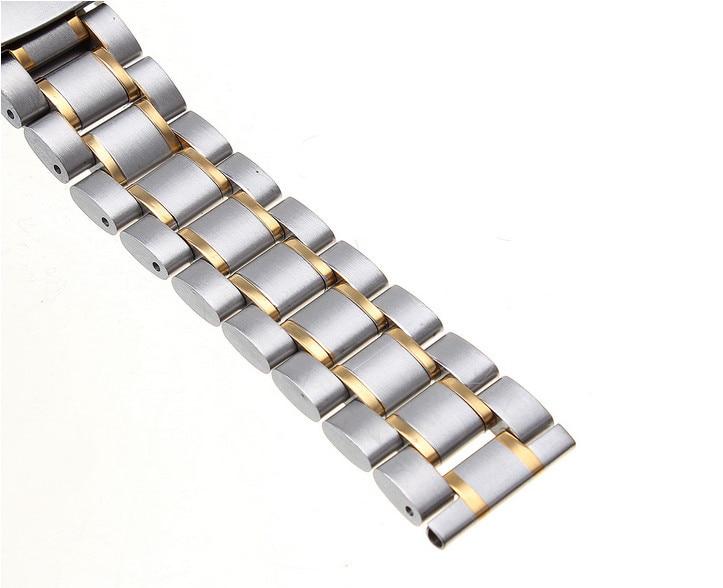 Высокое качество 10 шт./партия 18 мм сплошной Нержавеющая сталь ремешок для наручных часов часы ремешок 4 цвета-123108