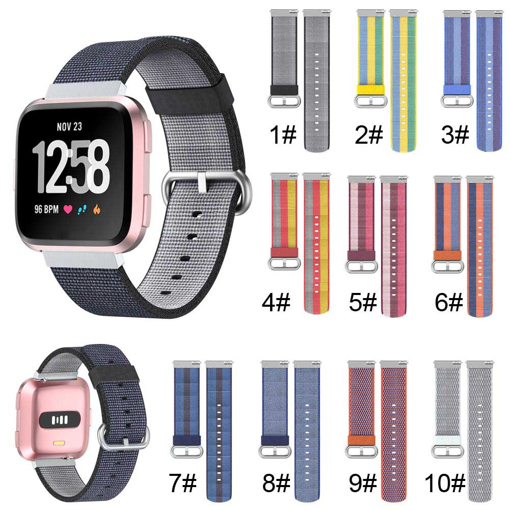Men Women Watch Band Replacement Nylon Strap Wristband for