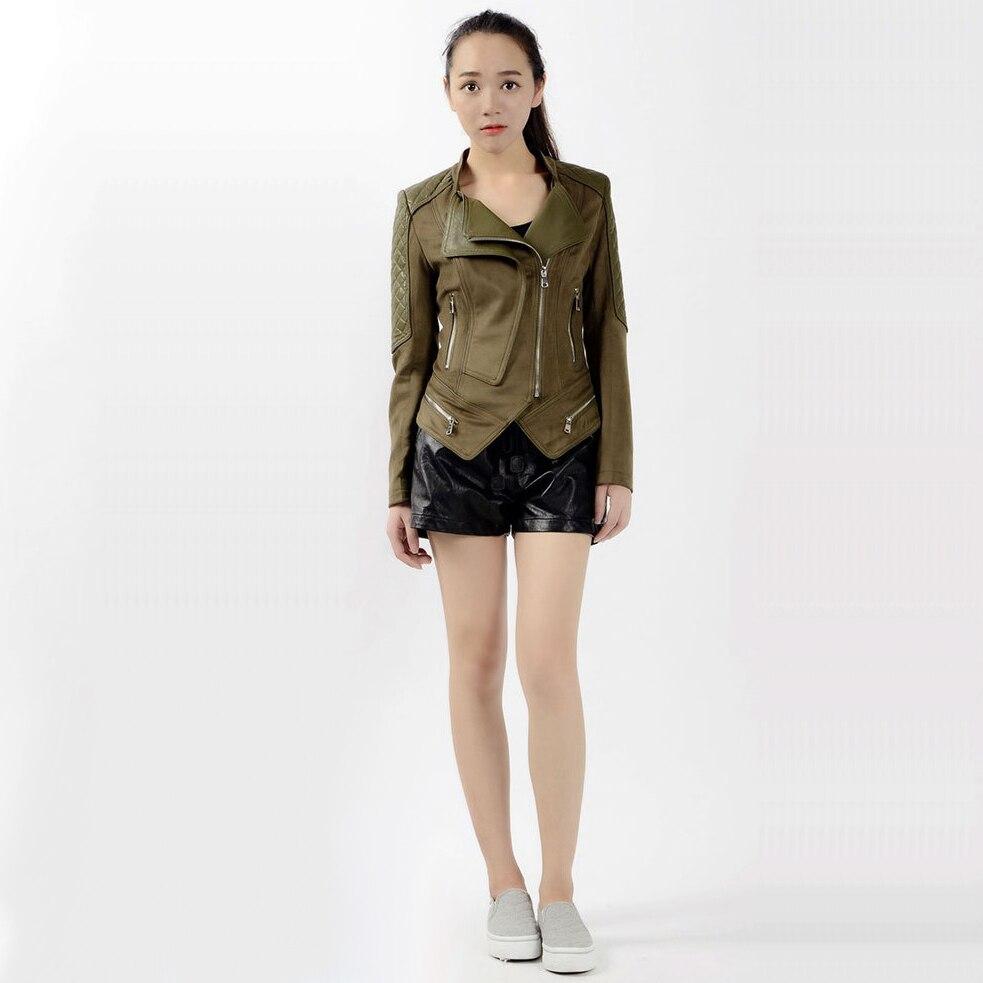 Steelsir New Punk Leather Jacket Vintage 2018 Designer Women S