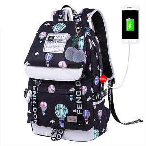 Image 4 - Fashion Female Backpack High Capacity Women Backpack Pattern School Laptop Backpack Teen Girl School Bag